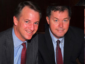 Mark Johnson and John Walsh
